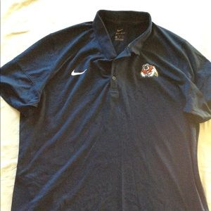 Blue Fresno State Polo Shirt